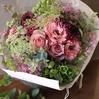 Living Bouquet  ~  ピンクボルドー
