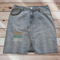059a:BRASIL レディースデニムスカート・サイズ  42