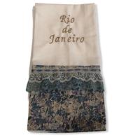 94:Rio de janeiro:ワンポイント刺繍入りマルチクロス:  50×70