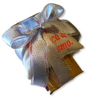 Presentes com Carinho / Café, queijo, cachaça e torresmo メッセージ付きクッションギフトセット