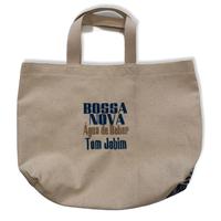 Bossa nova Água  de beber :コットンキャンパス地トートバッグ/Mサイズ
