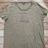 040:Música é :メンズカットオフTシャツ・M~Lサイズ