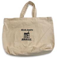 Rio de Janeiro BRASIL:ブラジル国旗・コットンキャンパス地トートバッグ