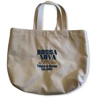 Bossa nova Garota de IPANEMA:コットンキャンパス地トートバッグ/Mサイズ