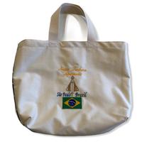 Aparecida:ブラジル国旗・コットンキャンパス地トートバッグ/Mサイズ