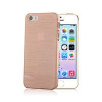 【SALE】iPhone5/5s スケルトンケース チェリー