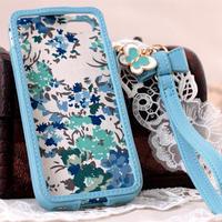 iPhoneSE/iPhone5/iPhone5s ケース ブルー