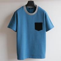 ライクデニムスウェット ポケットTシャツ LB