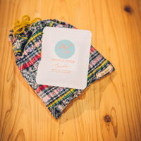 ILOITOO巾着袋(indigo)×ai coffee ドリップバックコーヒー3袋