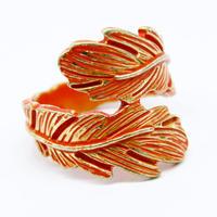 Leaf Motif Ring