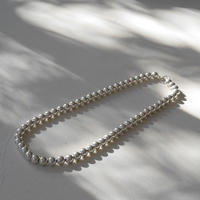SILVER.925 8㎜  PearlNecklace(45㎝)
