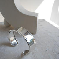 Silver.925 PLATE BANGLE(2.0cm)