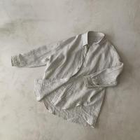 STRIPE LINEN SOLODITY SHIRT 受注商品