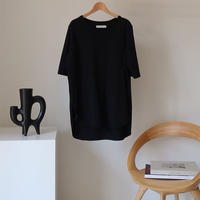 ESSENTIAL  PREMIUM  COTTON  T-SHIRT/BLACK