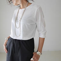SHEER T-SHIRT (WHITE)