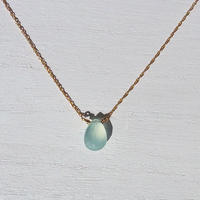 Light Blue Chalcedony Necklace
