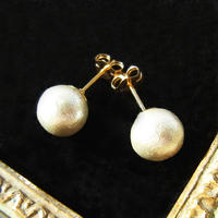 Cotton pearl Pierce -8mm-