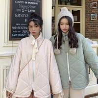 キルティングリボンジャケットコート