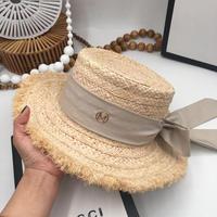 フリンジリボンカンカン帽