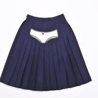 スカート/白パンツ
