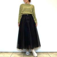【BEATRICE/ベアトリス】デニムドッキングオーガンジースカート