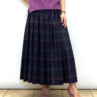 【CAPIS/カピス】チェックのフレアースカート