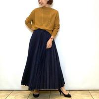 【BEATRICE/ベアトリス】デニムプリーツスカート