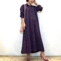 【BEATRICE/ベアトリス】イタリア製生地のシャツワンピース