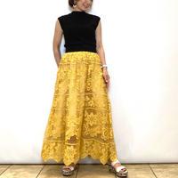 【C'EST MOJIEU/セモワージュ】フラワーレーススカート