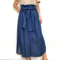 【Coomb/クーム】ウエストデザインのデニムスカート