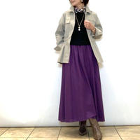 【BEATRICE/ベアトリス】ストレッチピケのシャツジャケット
