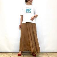 【Mylanka/ミランカ】カットソーワッシャープリーツスカート