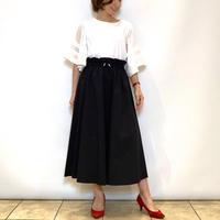【Nouque/ヌーク】タフタフレアスカート