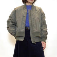 【BEATRICE/ベアトリス】レイヤードダウン MAー1ブルゾン