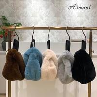 【Atelier brugge/アトリエブルージュ】エコファーワンハンドルバッグ