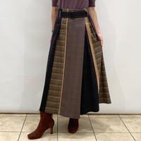 【Mylanka/ミランカ】3種類のチェック切り替えスカート