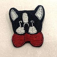 【CAPIS/カピス】犬ブローチ