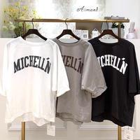 【MICA&DEAL/マイカアンドディール】ラグランスリーブロゴTシャツ