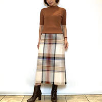 【BEATRICE/ベアトリス】大きめチェックのタイトスカート