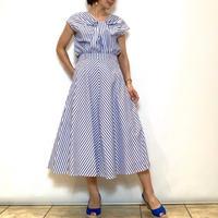 【FIGNO/フィグノ】ストライプのフレアースカート