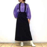 【Mia  Asterism/ミーアアステリズム】付け襟ジャンパースカート