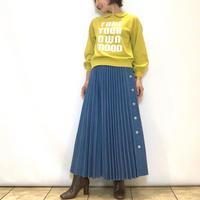 【MARIED'OR/マリードール】デニムプリーツスカート