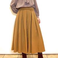 【Nouque/ヌーク】サテンフレアースカート