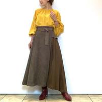 【FIGNO/フィグノ】アシンメトリーデザインスカート