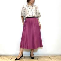 【BEATRICE/ベアトリス】二重仕立てのプリーツスカート