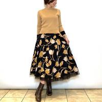【BEATRICE/ベアトリス】花柄チュールレイヤードスカート
