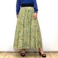 【PASSIONE/パシオーネ】フランス生地のプリントスカート