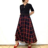 【PASSIONE/パシオーネ】タータンチェックのスカート