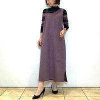 【BEATRICE/ベアトリス】フェイクスエードのジャンパースカート