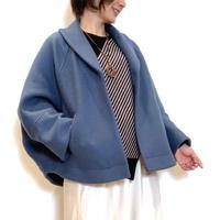 【PASSIONE/パシオーネ】ポンチョ風ショートコート